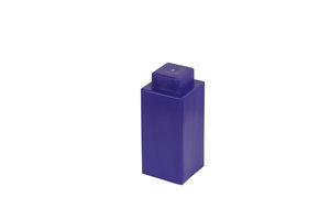 achtel violetter Block mit 1x1 Noppen