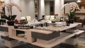 Bauen Sie fantastische Buffet- und Catering-Stationen