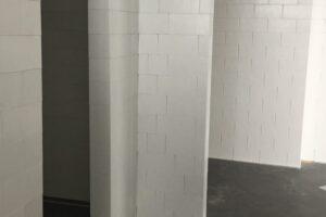 Komplexe Layouts: Verwenden Sie EverBlock® um komplexe Raumlayouts zu erstellen, einschließlich Fluren, Türöffnungen und Vorzimmern.