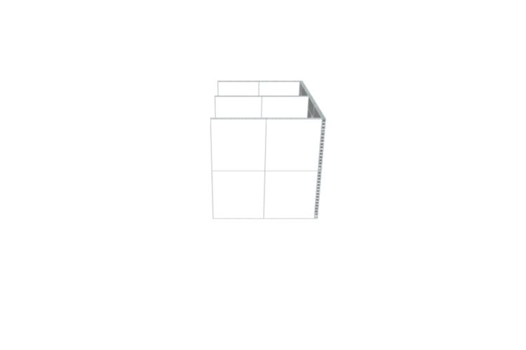Doppelbüro - Schwebende Wände