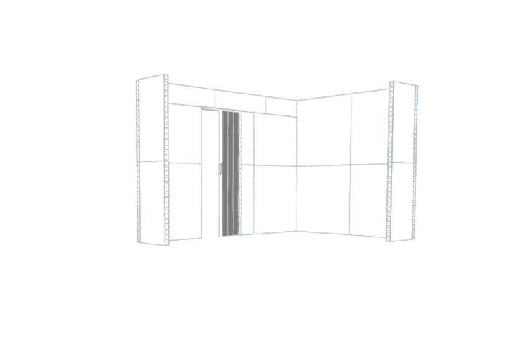 Innenansicht - Eckbüro