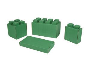 29 Blöcke Kombi -Set grün