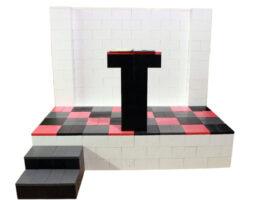Erstellen Sie Plattformen in allen Größen und Formen und wechseln Sie die Farben, um schöne Effekte zu erzeugen