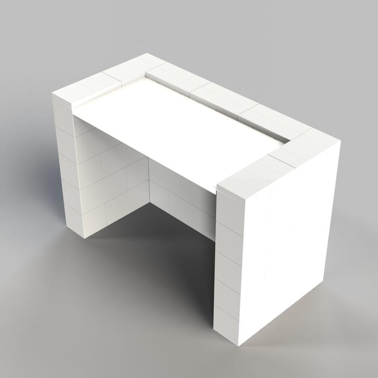 EverBlock 122 cm Schreibtisch