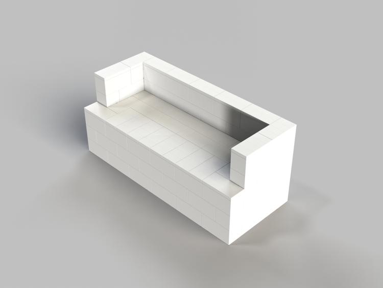 182 cm Sofa