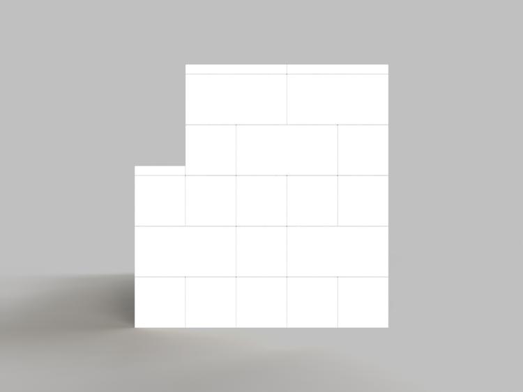 182 cm Sofa - Seitenansicht