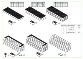 244 cm Sofa - Schritt-für-Schritt Instruktionen