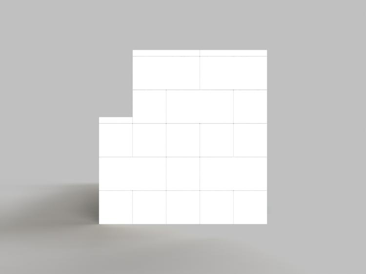 244 cm Sofa - Seitenansicht