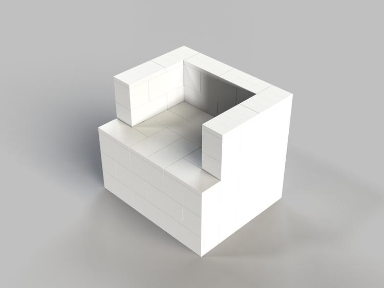 91 cm Sessel