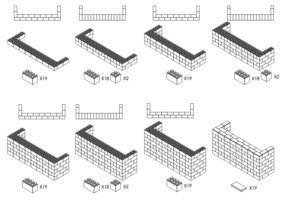 244 cm Bar - Schritt-für-Schritt Instruktionen