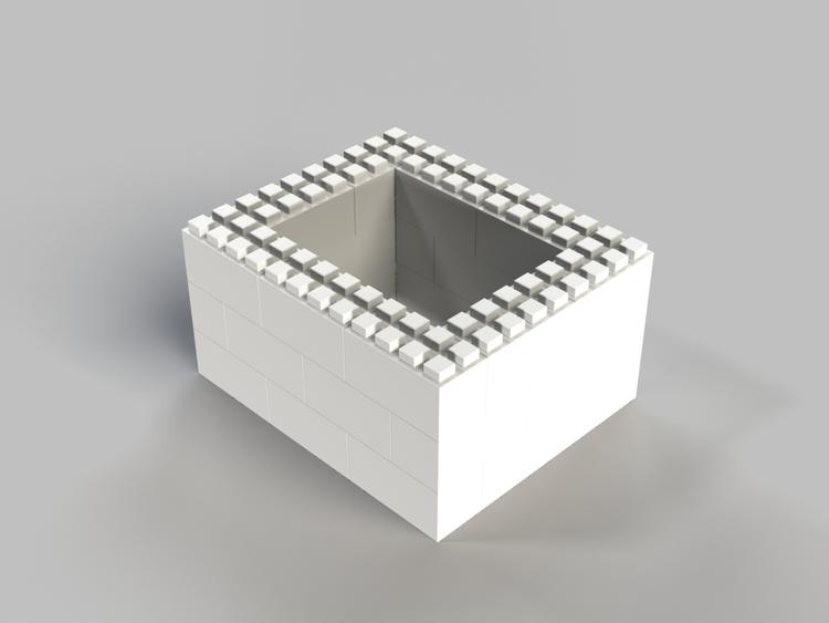 91 cm quadratischer Tisch