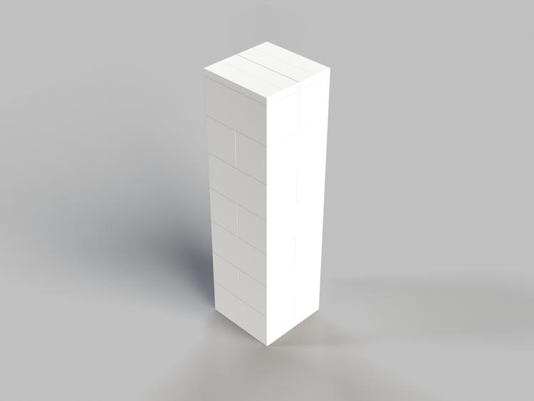 109cm Deko-Säule