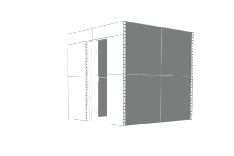 Privatraum - Seitenansicht rechts