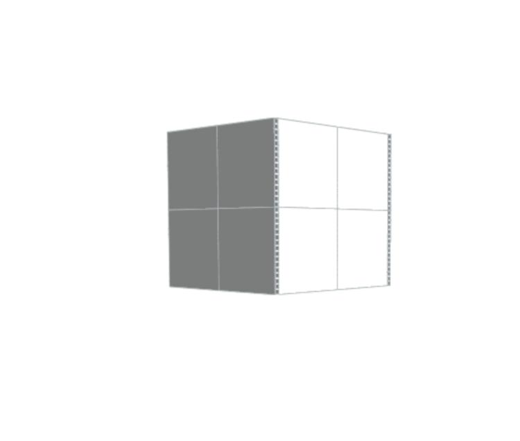 Privatraum - Seitenansicht links