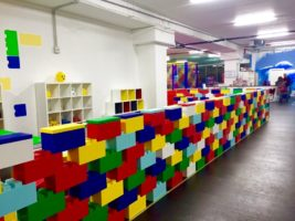 Trennraum für Spielzimmer