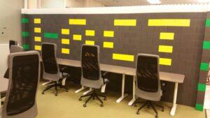 Bürotrennwand