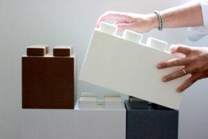 Staffelblöcke und alternative Größen für Stärke und um Ihre Designziele zu erreichen