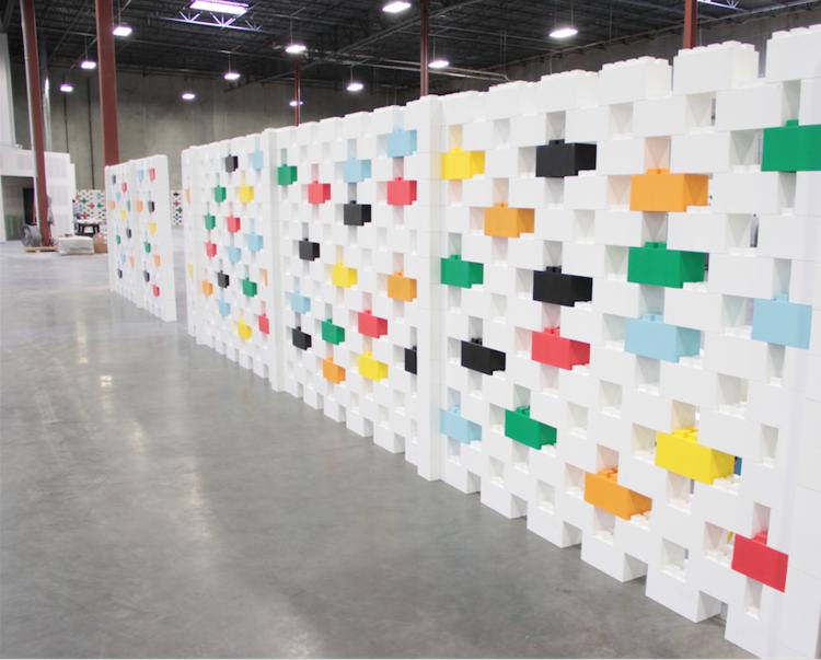 Erstellen Sie schöne Raumteiler und modulare Wände für Wohn-, Büro- und Industriezwecke.