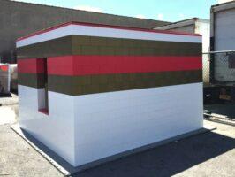 Erstellen Sie dauerhafte modulare Gebäude und temporäre und semi-permanente Strukturen.