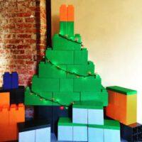Modularer Weihnachtsbaum