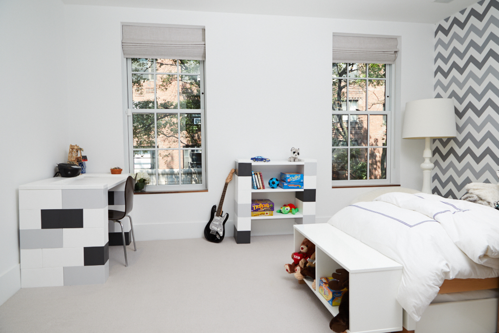 Modulare Schlafzimmermöbel: Verwenden Sie EverBlock, um modulare Möbel, Blocktische, Blockregale und einzigartige Schlafzimmermöbel zu erstellen.