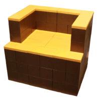 Everblock modularer Stuhl