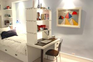 Erweitern Sie vorhandene Möbel und schaffen Sie zusätzlichen Platz durch erweiterbare Regale.