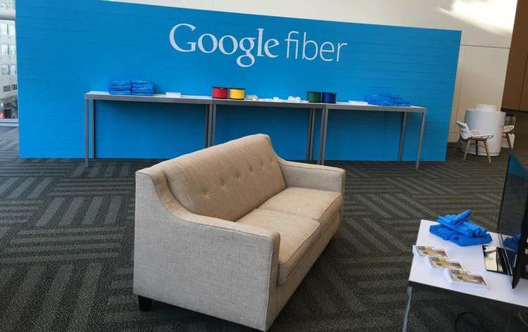 EverBlock® display für Google Fiber: Fertiggestelltes EverBlock®-Display auf der Urban Planning Institute Konferenz in San Francisco (mit freundlicher Genehmigung von: Fetch Graphics).