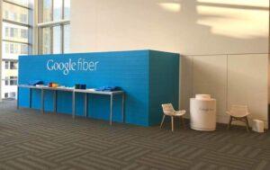 Fertiger Messestand: Fertiger Stand für Google Fiber am Urban Land Institute in San Francisco (mit freundlicher Genehmigung von: Fetch Graphics)