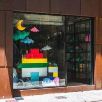 Einzelhandelsdisplays: Mit EverBlock können aufregende Schaufenster, modulare Einzelhandelsmöbel und andere Dekorationen erstellt werden
