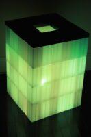 Beleuchtete Veranstaltungsmöbel: Modulare beleuchtete Blöcke. Beleuchtete Möbel. Beleuchtete Requisiten.