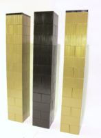 Modulare Säulen: Erstellen Sie individuelle Spalten und individuelle Podien für Blumen. Individuelles modulares Ereignisdekor.