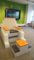 Modulare Möbel: Erstellen Sie lustige modulare Büromöbel