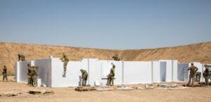 Verwenden Sie diese Option, um ganze MOUT-Einrichtungen (Military Operations on Urban Terrain) für Trainingseinheiten auszubauen. Konfigurieren Sie jedes Gebäude neu, um das Training zu variieren.