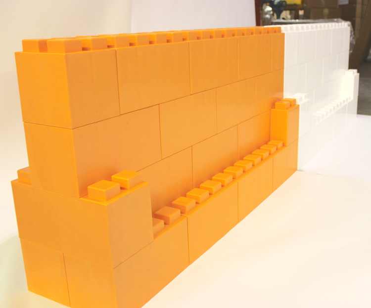Definieren Sie Bereiche und schaffen Sie Verkehrsschranken mit EverBlock® modularen Bausteinen
