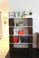 Erstellen Sie unglaubliche Bücherregale, die Sie später problemlos erweitern können.