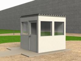 Bauen Sie modulare Gebäude, temporäre Gebäude, modulare Strukturen und tragbare Strukturen einschließlich Schutzhütten, Büros und Besprechungsräumen.