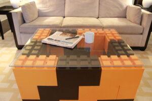 Wechselnde Farben für spannende modulare Möbel.