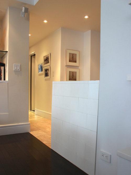 Bauen Sie modulare halbhohe Wände, um Ihre Räume zu teilen