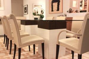 Erstellen Sie schöne modulare Tischsäulen für Esszimmer Tische, Couchtische und andere Möbel.